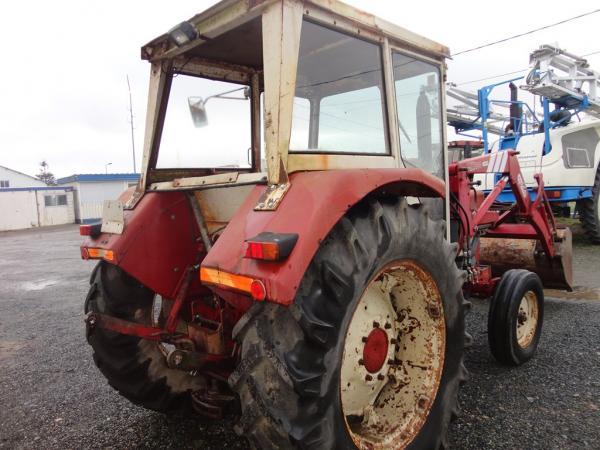 Tracteurs mat riels d 39 occasion tracteur case ih 744 recuperation agricole pi ces d 39 occasion